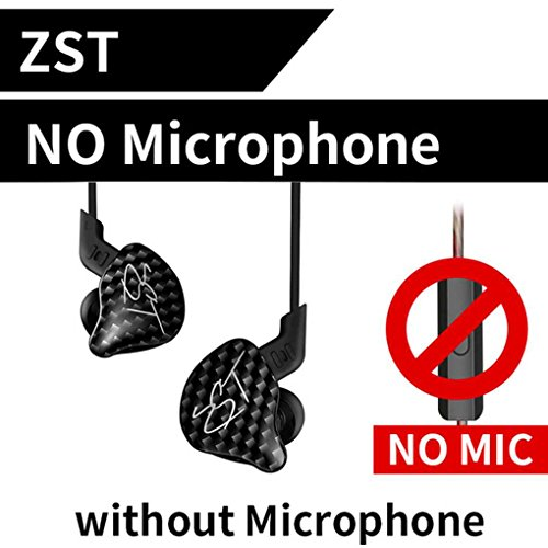 Mengonee KZ ZST Dual Driver Auriculares HIFI Auriculares Deportivos In Ear Headset...