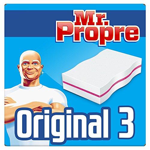 Mr. Propre - Gomme Magique Original Nettoyante pack de 3 - Lot de 3