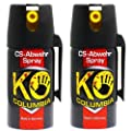 Familien Set: Original Columbia KO-CS Abwehrspray Verteidigungsspray - Made in Germany! 2x 40ml