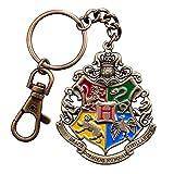 Harry Potter - Metall Schlüsselanhänger - Hogwarts Wappen - Logo