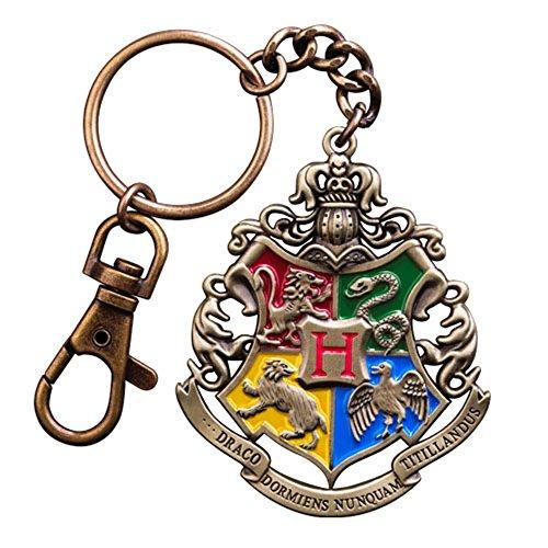 Harry Potter - Metall Schlüsselanhänger - Hogwarts Wappen - Logo -