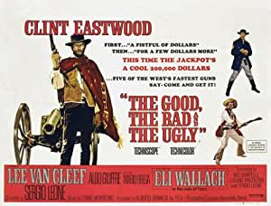 The Good The Bad And The Ugly reproduction photo affiche du film 40 x 30 cm