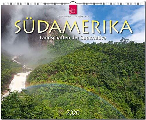 Südamerika - Landschaften der Superlative: Original Stürtz-Kalender 2020 - Großformat-Kalender 60 x 48 cm