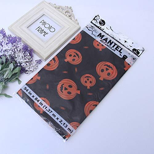 Spider Web Kürbis - Tablecloth Halloween Tischdecke Kürbis Ghost Spider