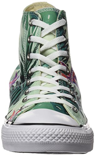 Converse Ctas Hi, Sneakers Mixte Adulte Multicolore (Fiberglass/menta/white)