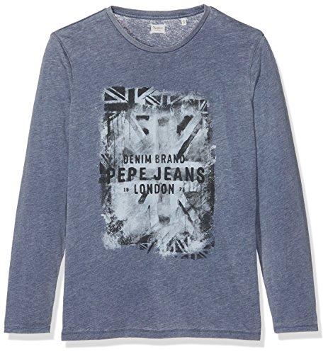pepe-jeans-jungen-vela-jr-l-s-t-shirt-blau-navy-12-jahre