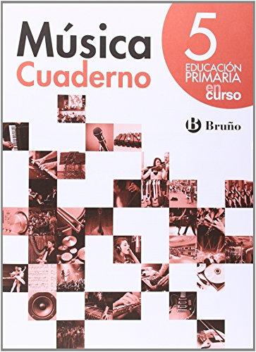 En curso Música 5 Primaria Cuaderno - 9788469608401