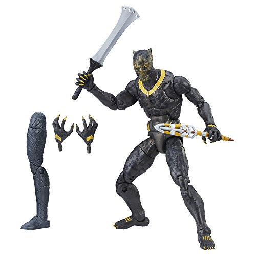 Marvel Action Figure by Erik Killmonger from the Legends Collectable Figures Series, Black Panther Film, DE 15,2 cm