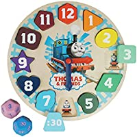 Thomas and Friends Wooden Clock Game