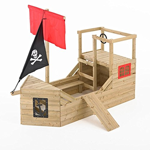 TP Toys Piratengaleone Holzspielhaus