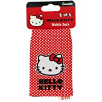 Hello Kitty HKSKRPD Mobile Phone Sock - Red Polka Dot