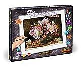 Noris Spiele Schipper 609130773 - Malen nach Zahlen - Blumenstrauß mit Kirschen, 40 x 50 cm