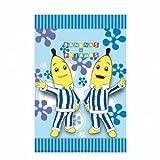Amscan Partybeutel, Design: Bananen in Schlafanzügen