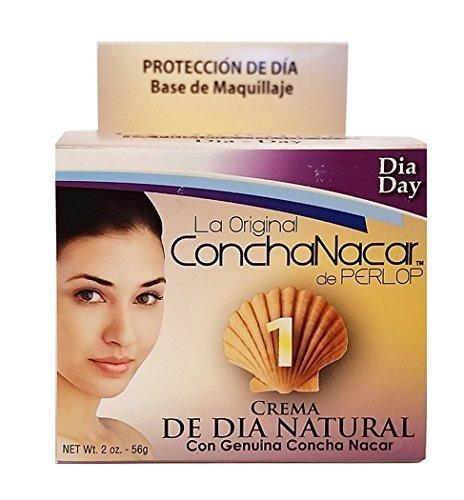 La Original Concha Nacar De Perlop # 1 Crema De Dia Natural (Pack of 6) by La Original
