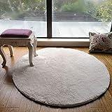 WEI Teppich Teppich Teppich nordischen kreative Runde Teppich Wohnzimmer Kaffeetisch Teppich Schlafzimmer Lernen Teppich Zimmer Garten Decke,160 * 160 cm
