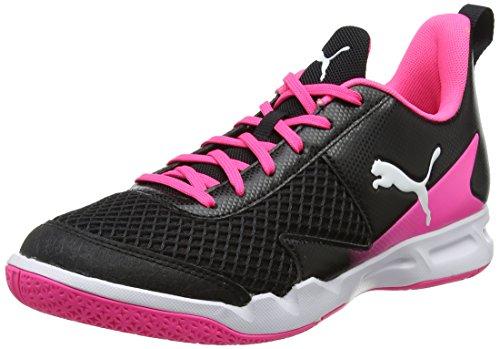 Puma Damen Rise XT 4 WN's Multisport Indoor Schuhe, Schwarz Black White-Knockout Pink 01, 38 EU