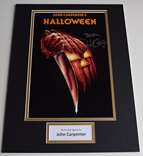 Sportagraphs John Carpenter SIGNED autograph 16x12 photo display Halloween Film AFTAL & COA PERFECT GIFT