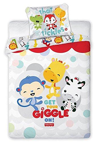 Bettwäsche, Bettwäsche Baby, Bettbezug 135x 100cm + Kissenbezug 40x 60cm Dekoidee Babyzimmer Kinderzimmer (FP-03) (Spider-man Schlafsack)
