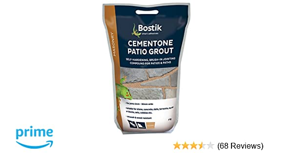 Bostik 30812559 Self-Hardening Cementone Patio Grout Grey
