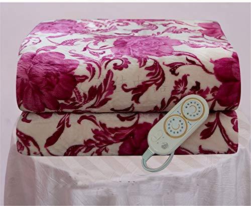 BLACK ELL 150x180cm Heizdecke Einzelbett Heizung Elektrisches Bett Teppichbodenheizung, 1