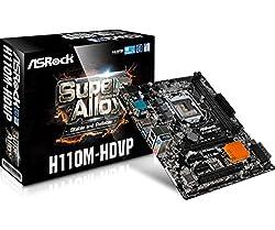 ASRock Super Alloy H110M-HDVP Socket 1151 Motherboard