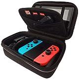 Subsonic - Malette de rangement rigide et anti-choc pour Nintendo Switch - Etui de rangement zippé en EVA - Housse pour Nintendo Switch console et ses accessoires