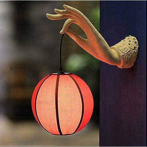 CHJK BRIHT Repliche della classica resina creativo levistico radice lampada