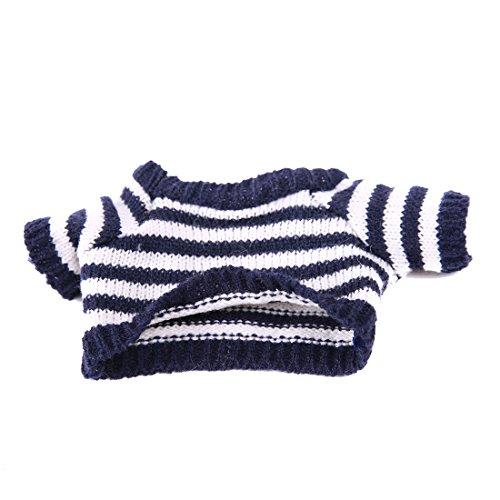 Yatoy Puppen Pullover für Bär Plüschbär, Shirt für Teddybär Kleidung Spielanzug Sweat shirt Kostüme Fits for 30cm (about - Puppe Kostüm Kleidung
