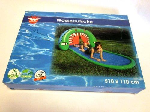 WEHNCKE Wasserrutsche Krokodil, 510 x 110 cm