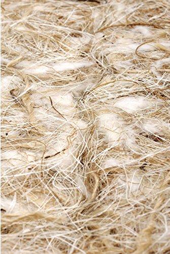Pet Ting Coco-sisal-Jute-Cotton 1kg Nest Material Finken/Kanarienvögel Wellensittiche Nager Hamster -