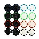 Pandaren Aufsätze Thumb Grip Stick 16 Einheiten Nachtleuchtende Pack für PS2, PS3, PS4, Xbox 360, Xbox One, Wii U, Switch PRO Controller