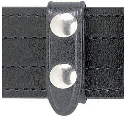 Safariland Duty Gear Brass Snap Belt Keeper (4PACK) (Basketweave Black) by Safariland Duty Gear