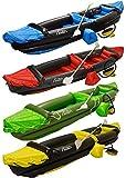 Andes - Aufblasbares Kajak/Kanu mit Paddel - Für 2 Personen - Wassersport