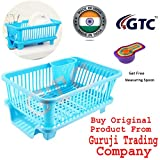 Gtc 3 In 1 Large Sink Set Dish Rack Drainer With Tray For
