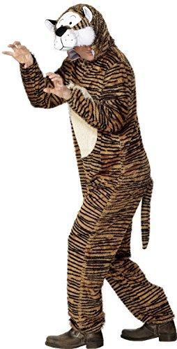 Imagen de smiffy de  disfraz de tigre, incl. traje con capucha, adulto unisex