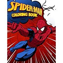 Spider-Man Coloring Book: Superhero Coloring Book With Best Jumbo Pictures For All Funs
