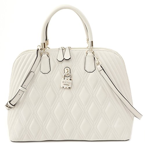 Guess Tasche - Shea - Dome Satchel - Bone (Handtasche Satchel Dome)