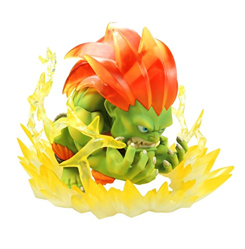 diorama Blanka - street fighter - big boys toys official product with sound effect - tnc 05