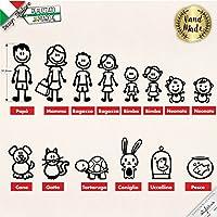 Adesivi personalizzati FamigliaC