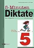 5-Minuten-Diktate, neue Rechtschreibung, 5 - Schuljahr - Karin Pfeiffer