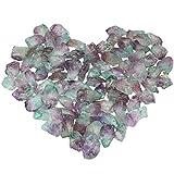 mookaitedecor Titanium Überzogen Raw Natur Kristallen Quarz Dekorative Steine,Rocks für Home Decor,...