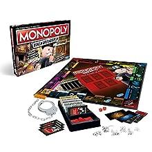 Hasbro Gaming E1871100 Monopoly Mogeln e Mauschel, gioco da tavolo ideale per tutta la famiglia (versione in lingua tedesca)