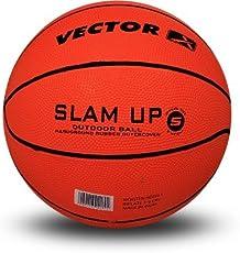 Vector X Slam Up Basketball - Size: 5 (Orange)