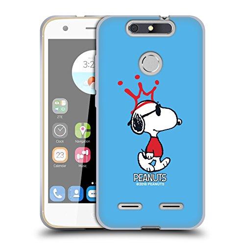 Head Case Designs Offizielle Peanuts Joe Cool Die Vielen Seiten Von Snoopy Soft Gel Hülle für ZTE Blade V8 Lite