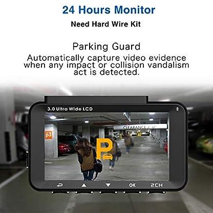 PEBA-Auto-Kamera-Dashcam-Harddraht-Netzkabel-OBD-Anschluss-24-Stunden-berwachung