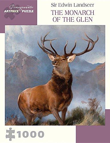 Sir Edwin Landseer: The Monarch of the Glen 1000-Piece Jigsaw Puzzle - Sir Edwin Landseer