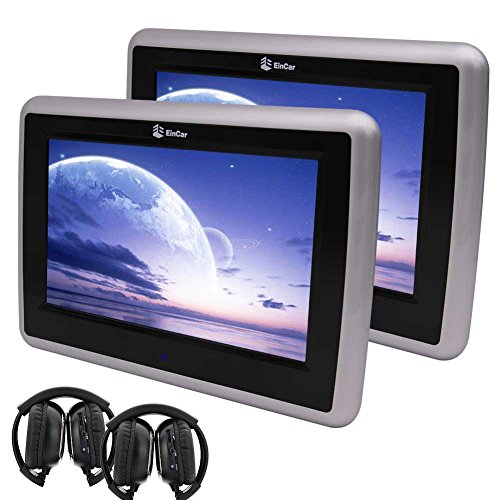 EinCar 9'' Dual Screen Car DVD Player HD Touch Screen for sale  Delivered anywhere in UK