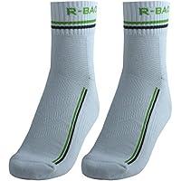 sourcingmap R-BAO unisexe autorisé Sport Badminton Basketball Pair Chaussettes mi-bas