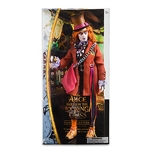 Mad Hatter Disney Film Collection Doll - Alice Through the Looking Glass - 13 1/2'' by Disney