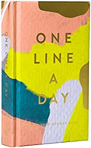 Modern One Line a Day: A Five-Year Memory Book (Daily Journal, Mindfulness Journal, Memory Books, Daily Reflec